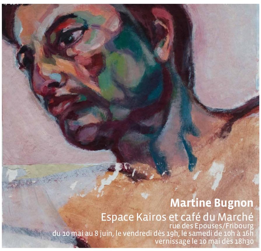 Martine Bugnon- 10 mai - 8 juin